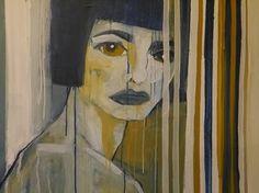 "Saatchi Art Artist Laurel Gallagher; Painting, ""Feral Goddess"" #art Goddess Art, Selling Art Online, Art For Sale, Saatchi Art, Original Artwork, Sculpture, Drawings, Artist, Prints"