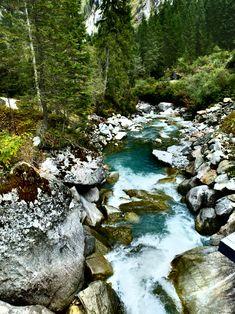 Mystisch im Wildgerlostal bei der Leitenkammerklamm. Einfache Wanderung! River, Outdoor, National Forest, Hiking, Things To Do, Outdoors, Outdoor Games, The Great Outdoors, Rivers