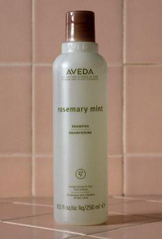 An all-around great shampoo: Aveda Rosemary Mint Shampoo