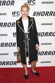 Anabelle Dexter Jones at the #Horror premier. See more celebrity party photos here: