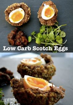 Low Carb Scotch Egg Appetizers - The Keto Diet Recipe Cafe