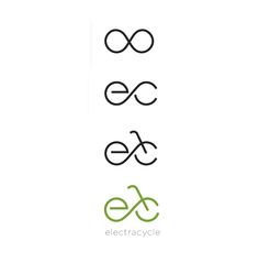 This is a neat way that this logo is made. I like how the initials of the company are put together to create a bicycle. It creates the appearance of a seat, wheals in forward motions and then the handle bars are added. Electra-cycle-logo-development