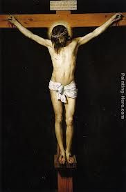 This is a famous hand painting made by Velasquez in the 1500s.I liked this picture because it shows one of the most important days every to happen on this earth. The day that jesus was crucified and died on the cross for are sins to give us a second chance of life.So when we die we could go join him in Heaven if we except him god and the holy spirt into are life's.this picture reminds us how much pain that god's son went throw just to save the people he loves.