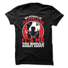 My Pitbull ᗚ is Harmless...Buy Nowpitbull, dog, pet, animal, pitbulls, dogs, cat