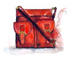 Page 11 – Illustrations by Tracy Hetzel Gucci Purses, Burberry Handbags, Coach Purses, Handbags Michael Kors, Louis Vuitton Handbags, Coach Handbags, Shoes Clipart, Cheap Burberry, Bag Illustration
