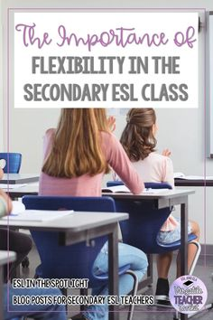 Flexibility and adaptability are among the most important skills any teacher should possess to foster learners' curiosity and cognitive engagement. Read more about my approach to using flexibility in the secondary ESL class. #lessonplanning #backtoschool #teacherskills #ESL #secondarylearners #classroommanagement #flexibleplanning #VersatileTeacherToolkit #ESLintheSpotlight Instructional Strategies, Teaching Strategies, Teaching Tips, Teacher Toolkit, Teacher Resources, English Language Learners, Language Arts, Blended Learning, Student Motivation