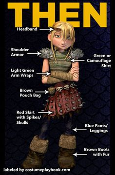 How to Train your Dragon 1 and 2 Costumes | Costume Playbook ...