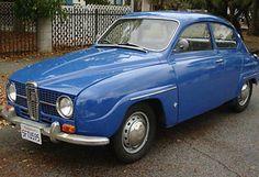 My first car! SAAB 96 1969