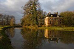 Kasteel Rhynauwen te Bunnik / Utrecht Nederland
