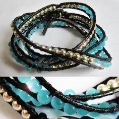 """bracelet """"Perles d'eau"""""""