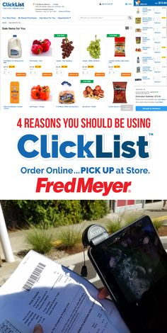 awesome Four Reasons I am Sticking With ClickList From Fred Meyer