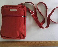 Baggallini TRAVEL Bag Crossbody Purse TOMATO/MANGO Lightweight Adjustable Shoul #baggallini #MessengerCrossBody
