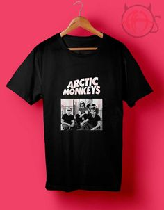 Arctic Monkeys Sceen T Shirt //Price: $14.50