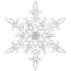 - NLD Sens-Ice-TionalElement Snowflake (16).png ❤ liked on Polyvore featuring effects, winter and snowflakes