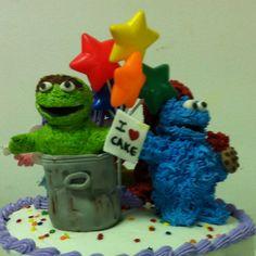 Sesame Street Cake Characters
