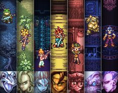 Video Game Art Chrono Trigger Digital Art Print by arcadecache