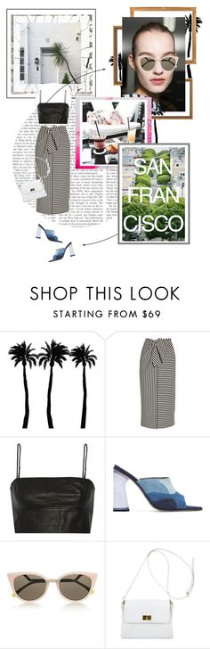 """""""A Day In San Fran"""" by daniellerose14 ❤ liked on Polyvore featuring Dot & Bo, Blanc Noir, Design Fidelity, TIBI, T By Alexander Wang, Amélie Pichard, Fendi and Chanel"""