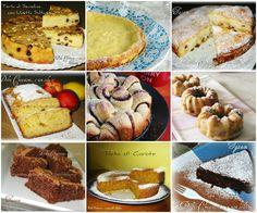 Raccolta Ricette di Torte per colazione e merenda - 2° parte