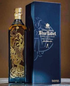 Blue Label The Legend of Sirena Wine And Liquor, Liquor Bottles, Wine And Beer, Drinking Book, Johnnie Walker Whisky, Johnny Walker Blue Label, Peach Drinks, Best Alcohol, Vodka Martini