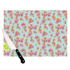 "Kess InHouse Laura Escalante ""Paper Flower"" Cutting Board"