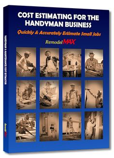 COST ESTIMATING FOR THE HANDYMAN BUSINESS with PDF download only