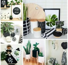 Trendy Bedroom Black And White Green Black White Bedrooms, Black And White Living Room, Living Room Green, Bedroom Black, Bedroom Green, New Living Room, Living Room Decor, Bedroom Decor, Sofa Scandinavian