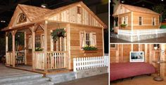 Another Top 10 Cheap Wood Cabins #1: Canmore Cabin for only $7600 Watch this 3D Video Tour
