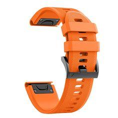 8a9db7da67d Watch Strap dla Garmin Fenix Silikonowy Pasek z Quick Release Band dla  fenix 5 Fenix 5 Plus Forerunner 935