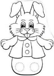 Okul öncesi Tavşan Kalıbı Ile Ilgili Görsel Sonucu Magnet