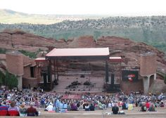 Red Rock Amphitheater in Denver CO, 2012