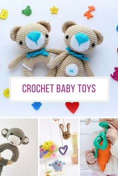 Loving these crochet baby toys - they'll be the perfect gift for the new arrival! Thanks for sharing!