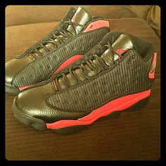 a86b0294673 Jordan Shoes | Air Jordans Retro 13'S Bred | Color: Black/Red | Size