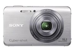 Sony Cyber-shot DSCW650 16.1 MP Digital Camera with 5x Optical Zoom and 3.0-Inch LCD (Silver) (2012 Model),$138.00