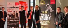 Vorverkaufsstart für die Sund- und Peenekonzerte 2017   Silbermond in Stralsund   Sarah Connor in Wolgast