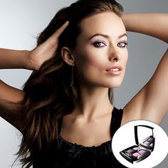 Use more than one shade to get #OliviaWilde's spring makeup look. Layering slightly different purple shadows gives you a more complex finish. http://www.instyle.com/instyle/package/general/photos/0,,20345782_20182891_20411762,00.html