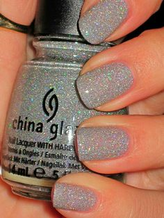 Nail China Glaze muito brilho