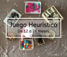 Mamilatte | Juego Heurístico Activities For 2 Year Olds, Preschool Learning Activities, Baby Learning, Infant Activities, Reggio Emilia, Games For Kids, Art For Kids, Montessori Toddler, Maria Montessori
