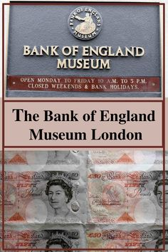 Bank of England museum in London pinnable