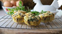 Paleo egg muffins with green chilies thesproutingseed.com