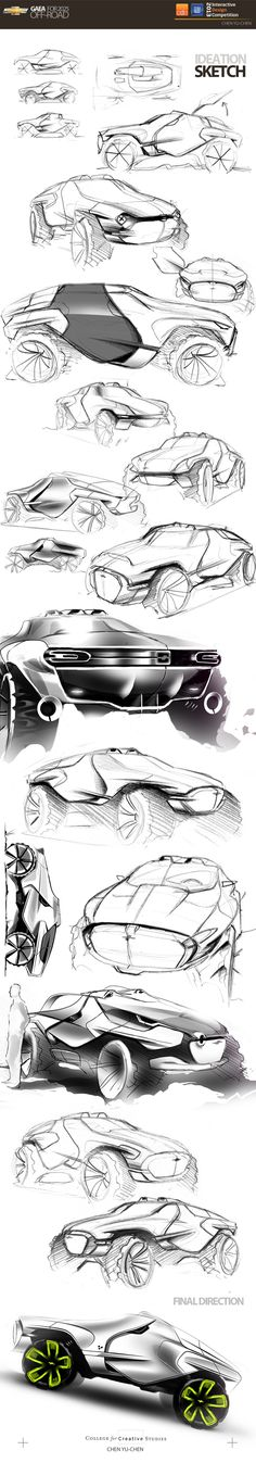 GAEA|OFF-ROAD CONCEPT in Winners announced: CDN - GM Interactive Design Competition 2013-2014 - Phase II