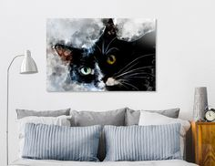 Discover «Cat Jagoda art», Numbered Edition Acrylic Glass Print by Justyna Jaszke - From $75 - Curioos
