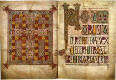 Lindisfarne Gospels UK.