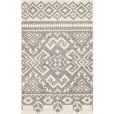 Found it at AllModern - Adirondack Ivory & Silver Area Rug