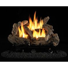 "24"" Vent-Free Dual Fuel Gas Log Set, Model# PCD24M"
