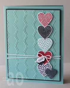 2013 Spring Catalog, Hearts A Flutter Bundle, Honeycomb TIEF:  Lovely Little Labels stamp set,  Little Labels Punch Pack by Sweet Impressions: Hearts all in a Row