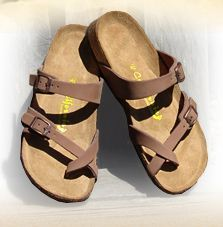 At California Footwear Co., we make ridiculously comfortable sandals with great arch support and no break in time. Footwear Shoes, Birkenstock Mayari, Comfortable Sandals, Great Deals, Gladiator Sandals, Awesome, Amazing, Cool Things To Buy