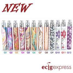 Embossed Designer Battery for eGO DQ Style [DQSTYLE] - $15.99 : Quality brand e cigarette and e cig liquid from ecigexpress.com