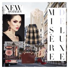 """""""Misère Deluxe"""" by taraychadiane ❤ liked on Polyvore featuring Ted Baker and Charlotte Tilbury"""