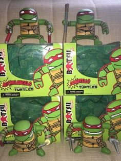 Tmnt ninja #turtles neca #batsu figures,super #rare,boxed,vgc,2009,collectible,,  View more on the LINK: http://www.zeppy.io/product/gb/2/172483963953/