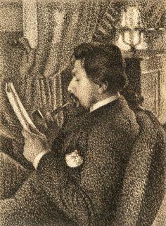 Portrait of Jan Toorop by Georges Lemmen, 1886
